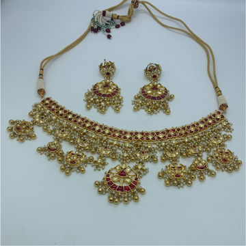 Traditional Bridal Necklace Set by