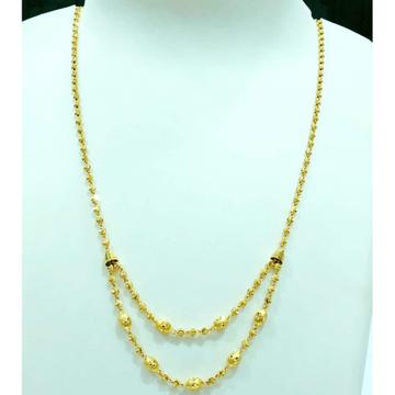 22 carat gold ladies classic balls dokiya chain  rh-dc721