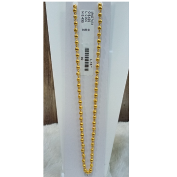 22 KT FANCY FOOTBALL MALA by