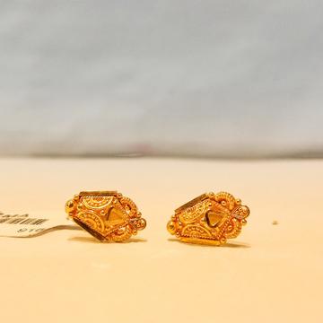 Gold 916 Hallmark Classic Design Earrings For Women by Pratima Jewellers