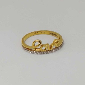 22 Kt Gold Ladies Branded Ring