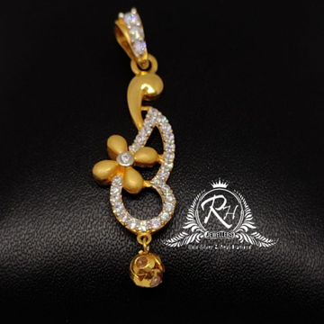22 carat gold traditional pendal RH-PL632