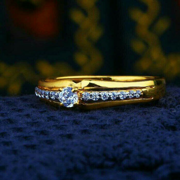 Exclusive Singal Stone Cz Ladies Ring LRG -0403