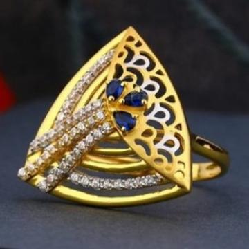 22 carat gold fancy ladies rings RH-LR475