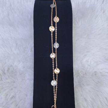 18KT/750 Rose Gold Fancy Richna Bracelet GLU-182