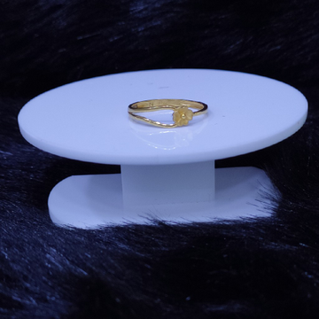 22KT/916 Yellow Gold Radiant Ring For Women