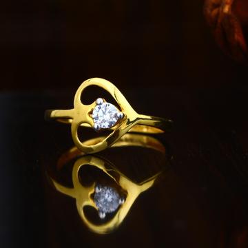 22KT Gold Hallmark Heart Design Ring