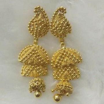 22k Gold 916 Jumar Butii Attractive Dijain by