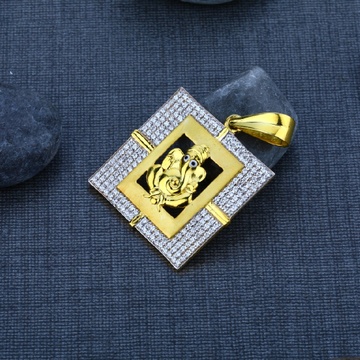 Men's Exclusive 22K Ganpati Bapa Gold God Pendant- GP25