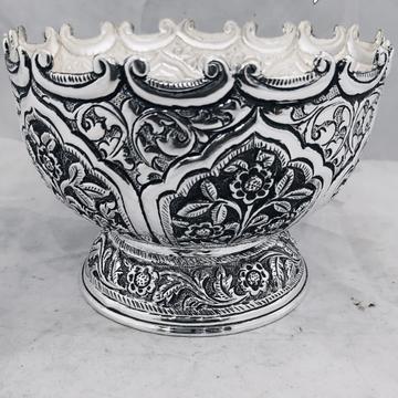 Silver decorative bowl jys0014