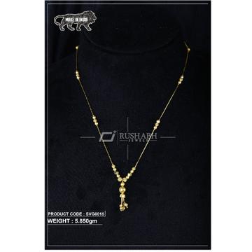 22 Carat 916 Gold Ladies swarovski Moti mala svg0015