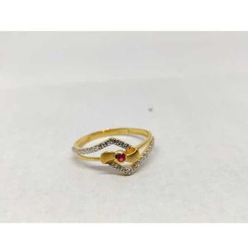 22k Ladies Fancy Gold Ring Lr-17097