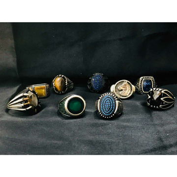 92.5 Sterling Silver Antique Ring Ms-3902
