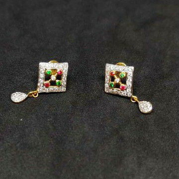 22k ladies gold earrings NO-20005