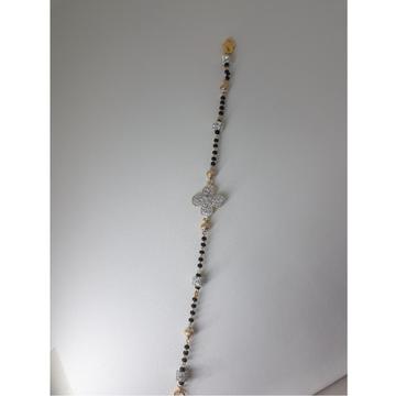 916 Gold CZ Mangalsutra Bracelet IO-B001