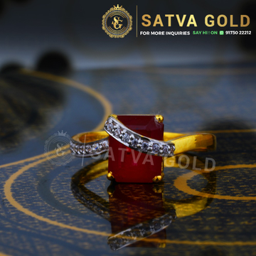 916 gold ring sgr-0044