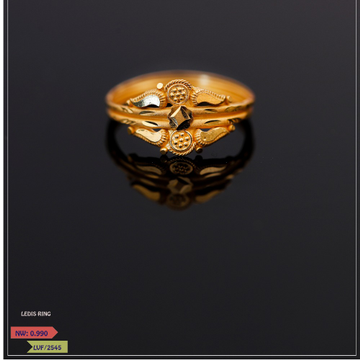 PLAIN GOLD LADIES RING