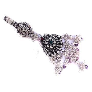 Single clip antique silver juda mga - jus0052