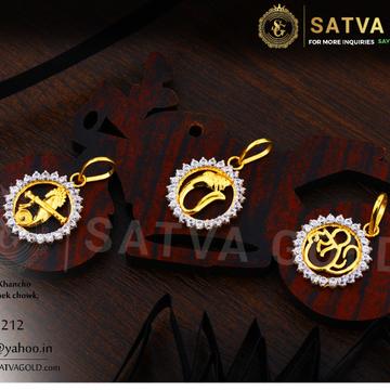 916 gold pendants SGP-0005