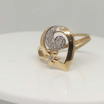 Fancy Rose Gold Ring by