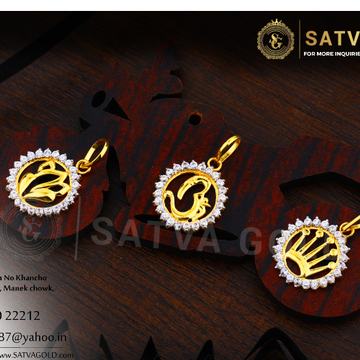 916 gold pendants SGP-0011