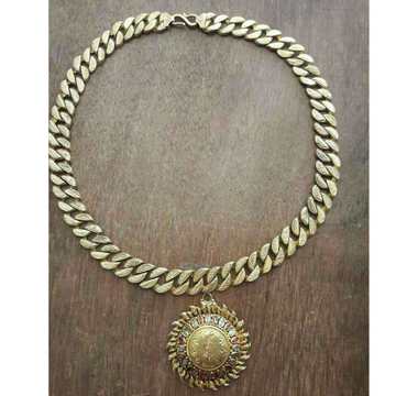 22K / 916 Gold Gents Sun Shaped Attractive Chain
