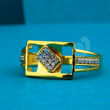 22ct Daily Were Cz Gents Ring
