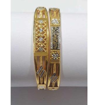 22KT Gold Hanmade Designer Copper Kadli by