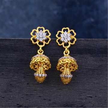 Ladies 22K Gold Jummar Fancy Earrings -LJE107