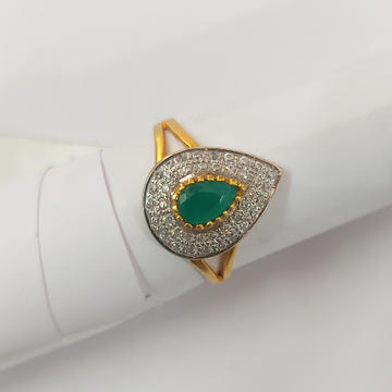 Ladis fancy stone ring by Parshwa Jewellers