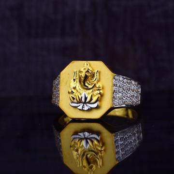 Ganpati Gold Ring-MGR62