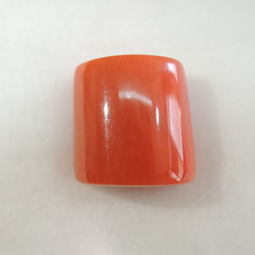 24.55ct oval natural red-coral (mungaa) KBG-C34 by