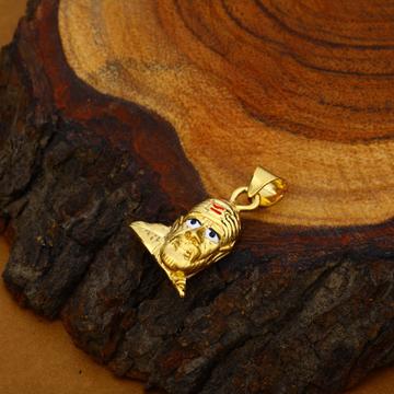 Sai Baba Gold Hollow Pendant-HLP65