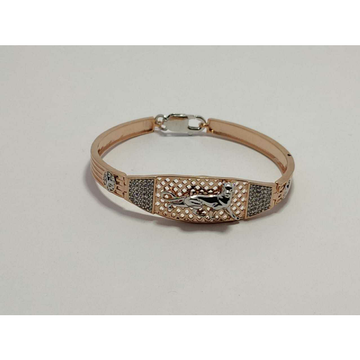 92.5 Sterling Silver Rose Gold Premium Bracelet Ms-3888