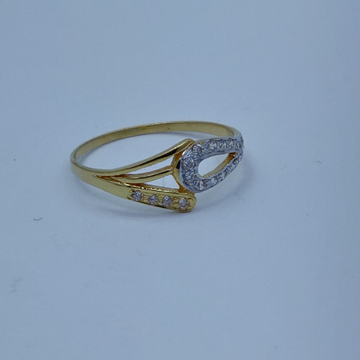 22k light weight ladies ring 002
