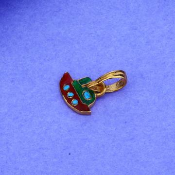 916 Gold Hallmark Stylish Pendant KP03