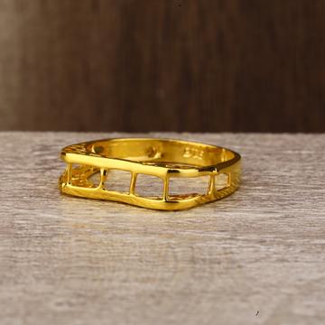 Ladies 916 Gold Casting Plain Ring -LPR135
