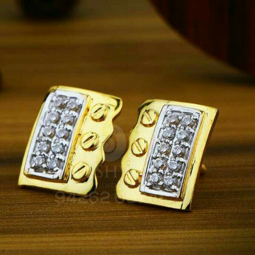 18kt Attractive Fancy Cz Gold Tops ATG -0023