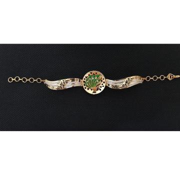 22Kt Gold Peacock Design Bracelet For Women RH-B002