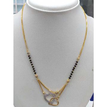 840 Gold Fancy Chain Mangalsutra RJ-K026