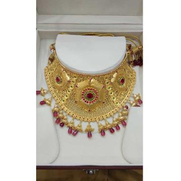 22KT Gold Bridal Necklace