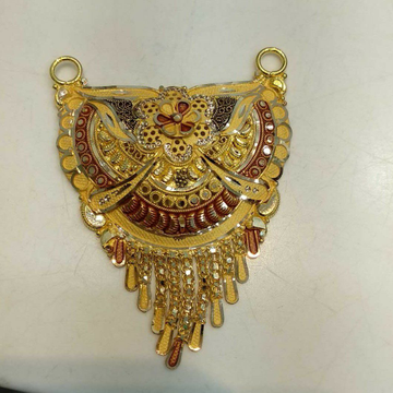 Gold mangalsutra Pendant by