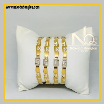 916 Gold CNC Bangles NB - 526