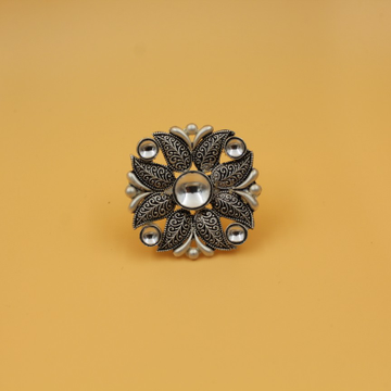 92.5 ANTIQUE SILVER RING SL R047