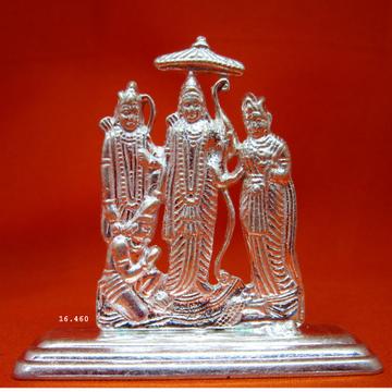 Silver Shree Ram Laxman Janki Statue(Murti) MRT-139