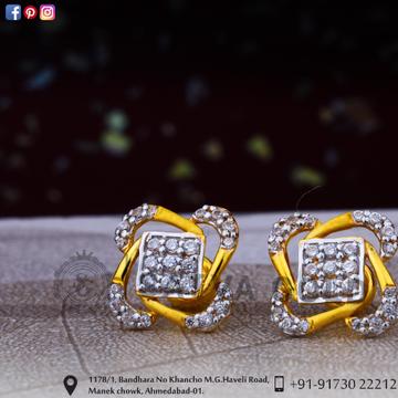 916 gold earrings sge-0043
