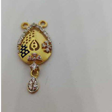 916 Ladies Gold M S Pendant M-32006