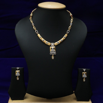 22kt Necklace Set CZS0019