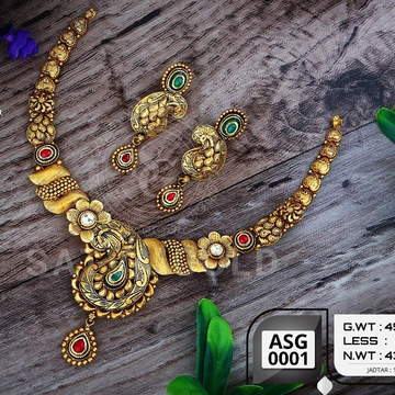 916 gold antiqe set sgs-0009