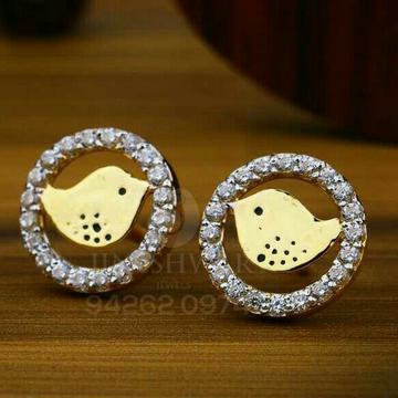 18kt Fancy Designer Gold Cz Beby Tops ATG -0030